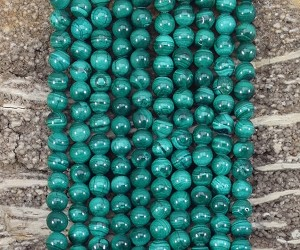 Malachite 6mm Round A