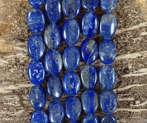 Natural Lapis 13x18mm Oval