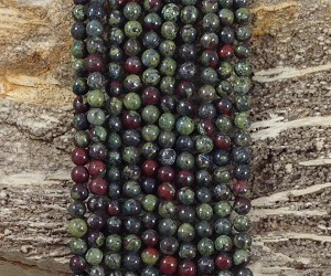 Dragon Bloodstone 6mm Round