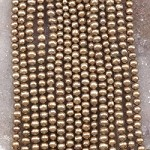 Pearl 4.5-5mm Potato Dyed Brown