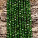 Chrome Diopside 5mm Micro Faceted Round