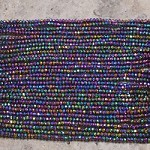 Crystal 2mm Rondelle Metallic Rainbow