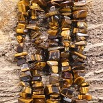 Yellow Tiger Eye 9-11mm Chips