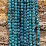 Hubei Turquoise 5-5.5mm Faceted Round