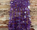 Amethyst Faceted Nugget |-|-| Grade A