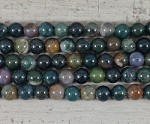 Fancy Jasper Round 2.5mm hole 10mm