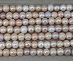 Pearl Mix Natural Color Potato 2.5mm Hole 10-11mm Grade A