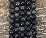 Golden Obsidian 12mm Round