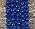 Natural Lapis 12mm Round Grade AA