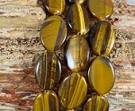 Yellow Tiger Eye 18x25mm Oval